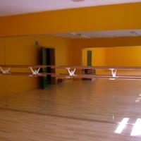 Balettsaal Wandspiegel
